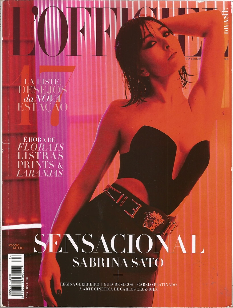 REVISTA L'OFFICIEL -  NOVEMBRO 2014